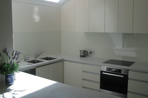 Top glass for kitchen
